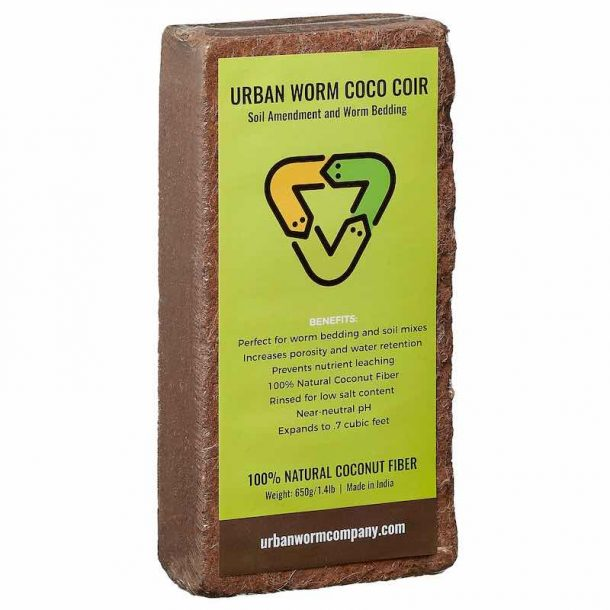 Image sof Urban Worm Coco Coir Front Label