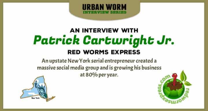 Urban Worm Interview Series: Patrick Cartwright