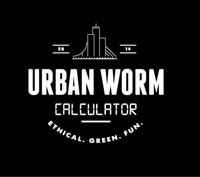 Urban Worm Calculator Logo