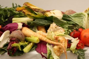 green food waste