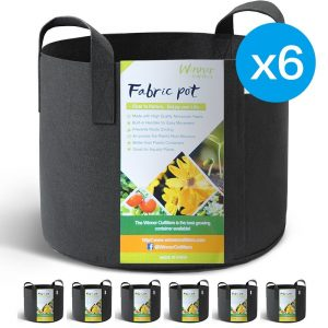 6 10-gallon grow bags for $16.59