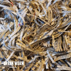 Shredded paper for worm bedding