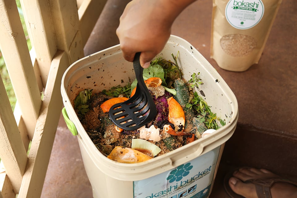Another Option I M A Little Less Familiar With Is Bokashi An Anaerobic Process That Ferments Organic Waste To Compost Using The Method