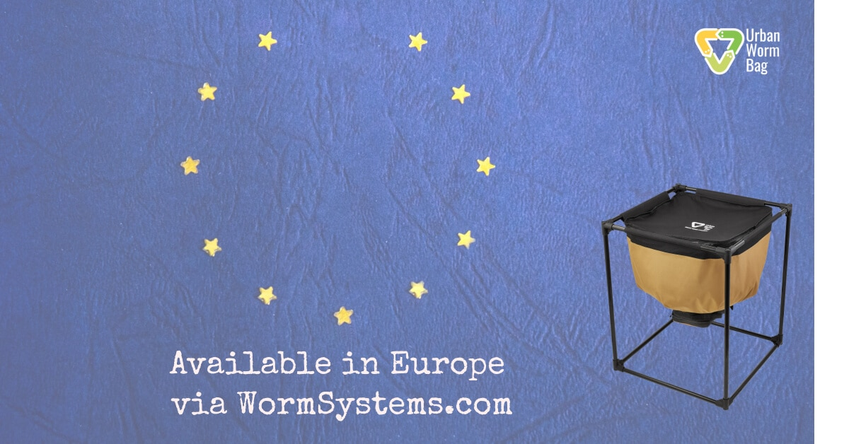 The Urban Worm Bag is Now Available in Europe!