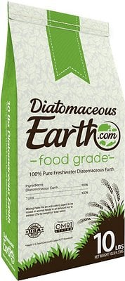 Diatomaceous earth for worms